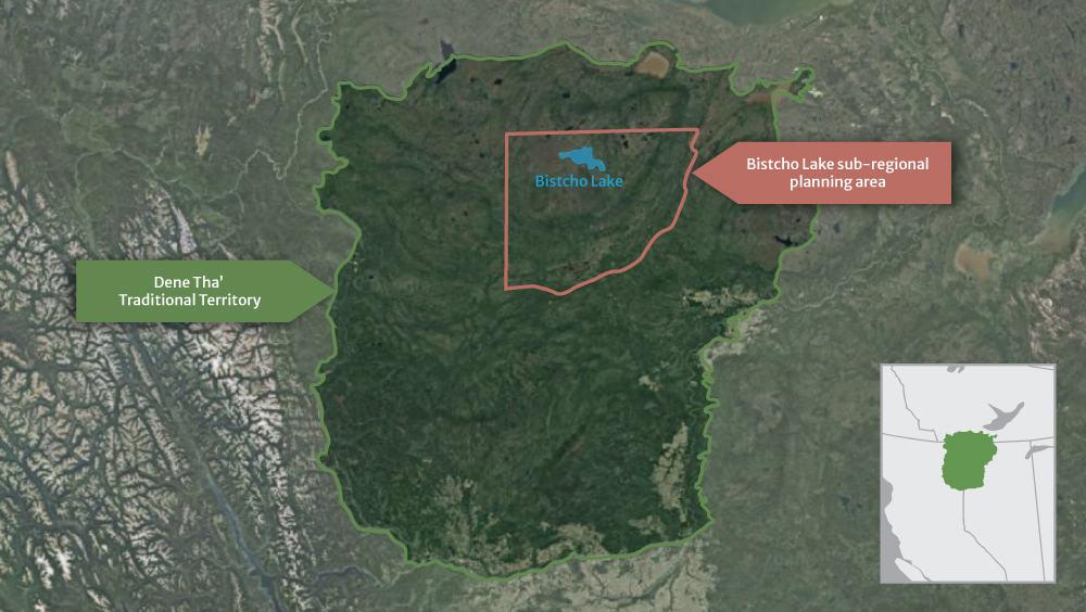 Bistcho Lake IPCA Map